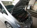 トヨタプリウス エアコン効き不良修理