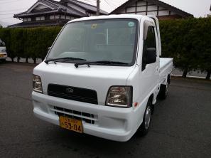 スバルサンバートラック4WD38万円