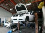 BMWエンジンマウント交換作業